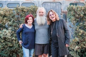 [img] Ozzy & Sharon Osbourne with Rick Rubin